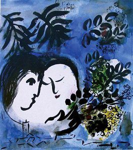 Chagall Lovers Image