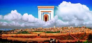Heavenly and Earthly Jerusalem Image