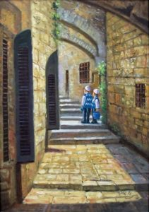 Children in the Old City Image