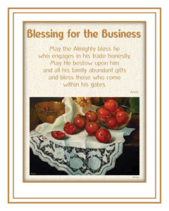 Blessing for the Business Image
