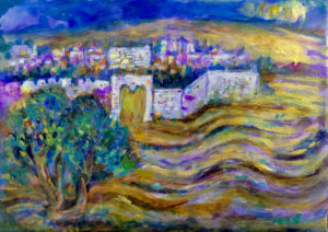 The Olive Tree and the Eastern Gate Image